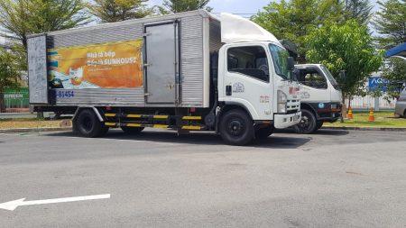 Bảng giá thuê xe tải chở hàng