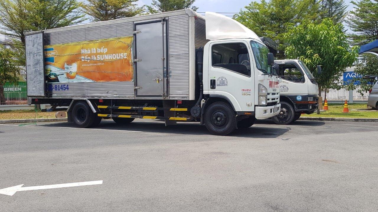 Bảng giá xe tải chở hàng