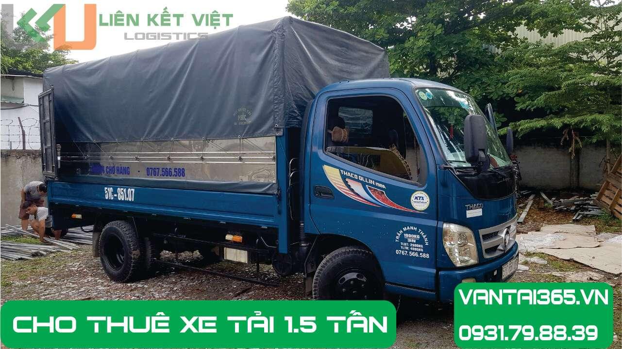 Thuê xe tải 1.5 tấn tại Liên Kết Việt