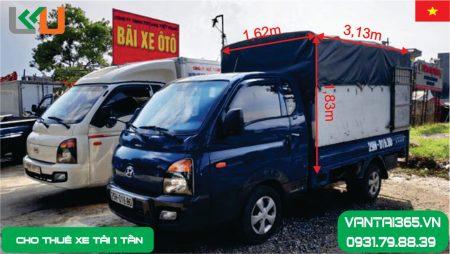 xe tải 1 tấn thùng bạt cho thuê tại Liên Kết Việt