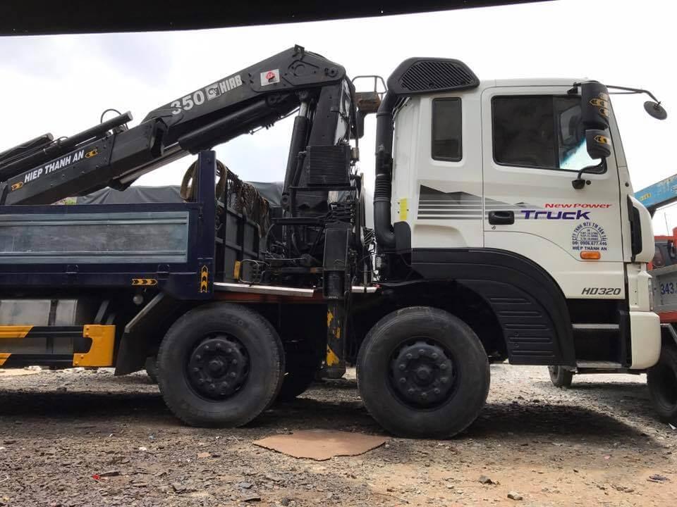 dịch vụ thuê xe tải cẩu tại vận tải 365
