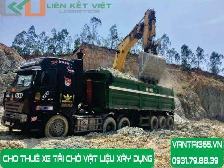 Xe tải chở vật liệu xây dựng cho thuê tại Liên Kết Việt