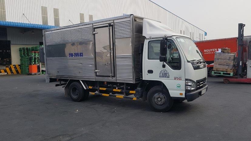 Cho thuê xe tải tự lái theo tháng