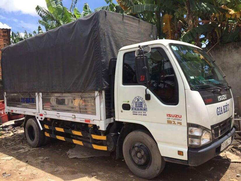 Thuê xe tải tự lái tphcm