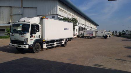 Hình ảnh thật xe tải chở hàng 2 tấn tai Vận Tải 365